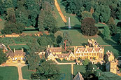 Stanway House Aerial View