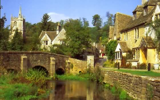 Castle Combe England UK Tourist Information Guide Cotswolds