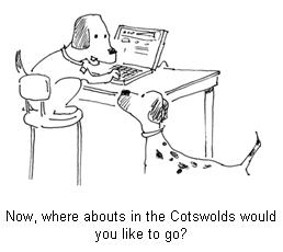 Dogs welcome in the Cotswolds