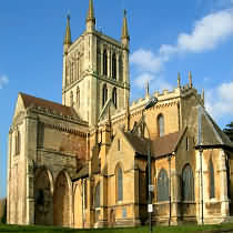 Pershore Abbey, Pershore, Worcestershire