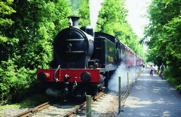 Steam Train on the Avon Valley Steam Railway
